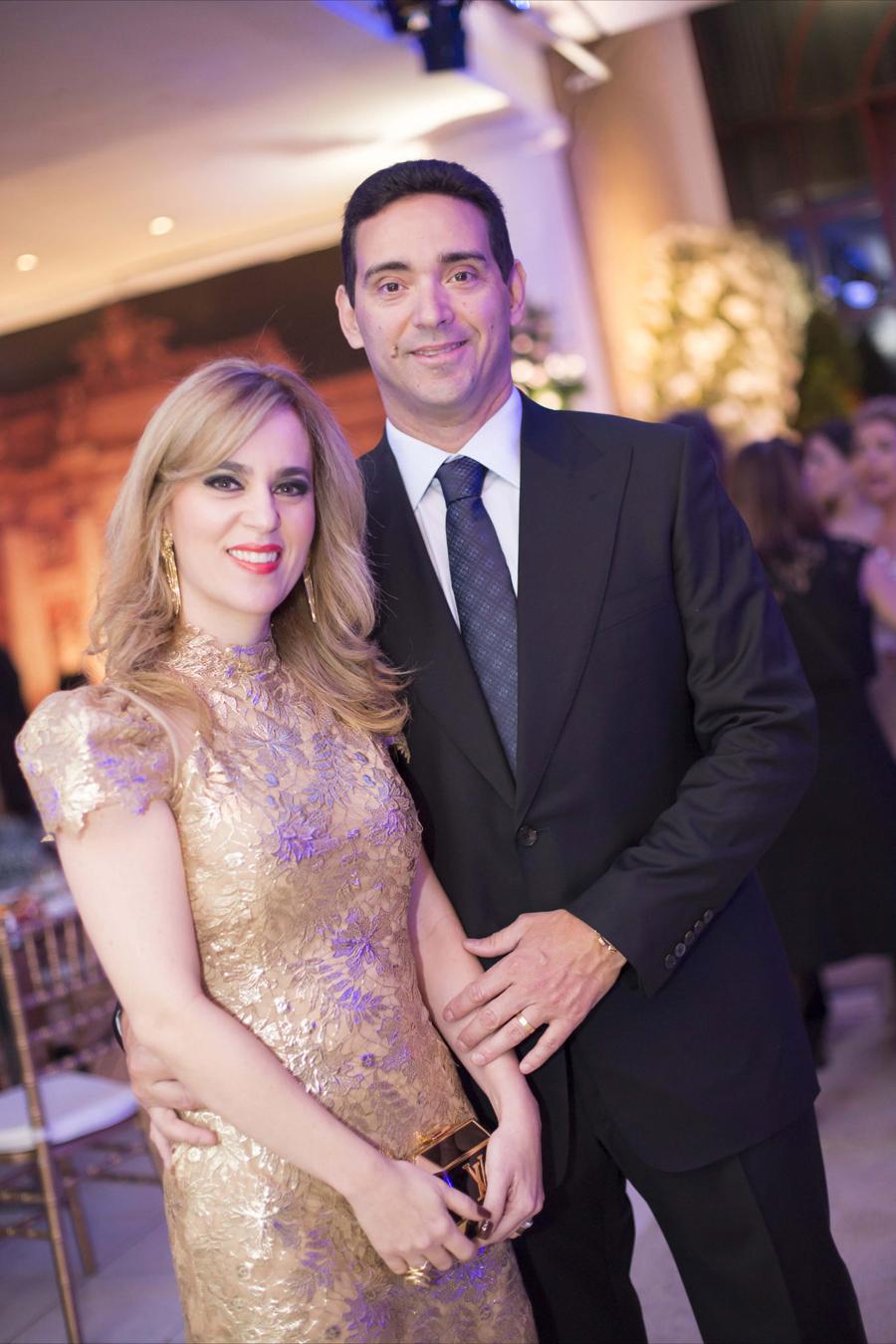 Beatriz Ribeiro e Paulino Teixeira de Carvalho