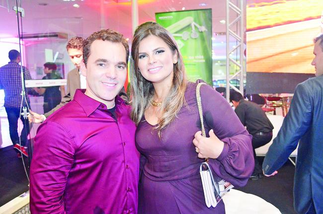 Roberto Cavalcanti Filho e Mariana Ribeiro