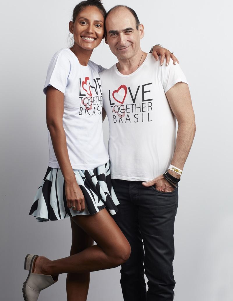 Emanuela de Paula e Amir Slama   Fotos: Divulgação