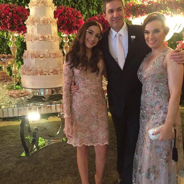 Maria Fernanda Flaviano e Alexandra Ribeiro Coutinho prestigiam o casamentohellip