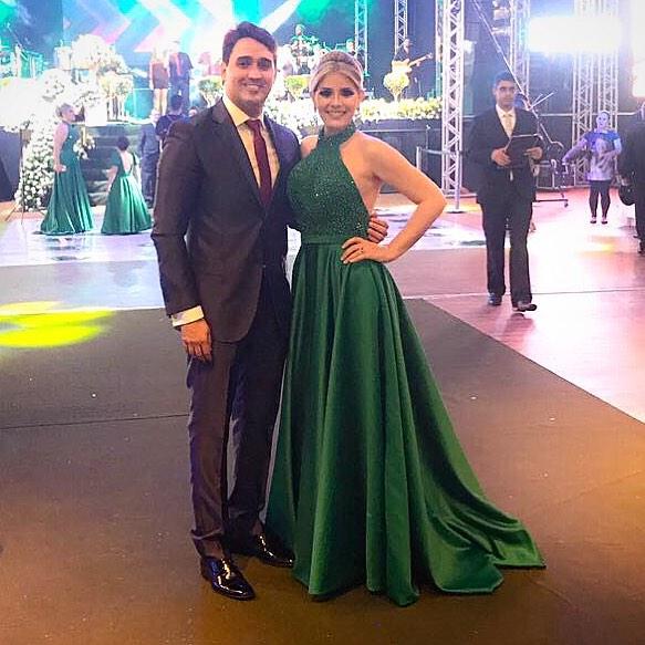 Mariana Gadelha e Rodrigo Lavor | Foto: Reprodução
