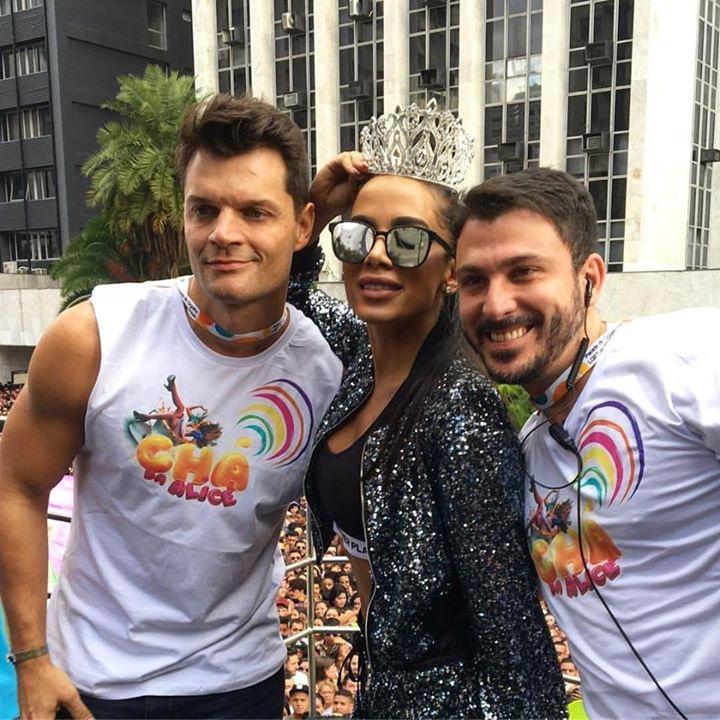 Bruno Pastura, Anitta e Pablo Falcão | Fotos: Divulgação