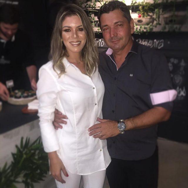 O casal de empresrios Michelly Cruz e Paulo Henrique nahellip
