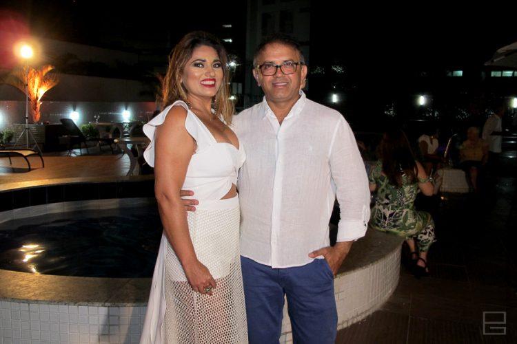 Alzenyr Soares e José Maranhão | Fotos: PG