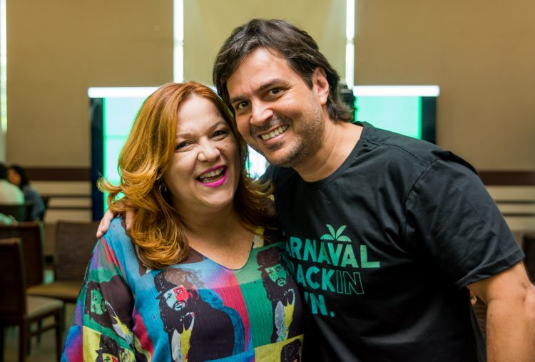 Nena Queiroga e Bruno Rego | Fotos: Thiago Britto