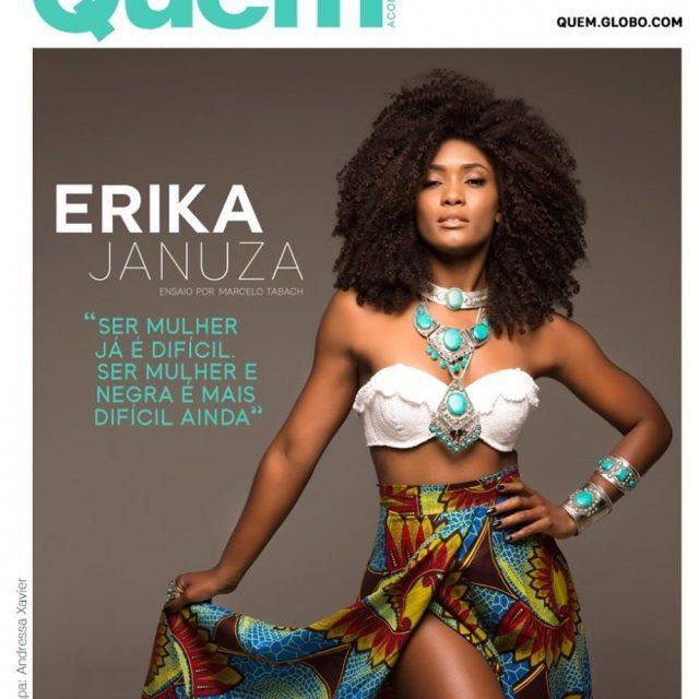 Maravilhosa a atriz erikajanuza na capa da nova edio dahellip