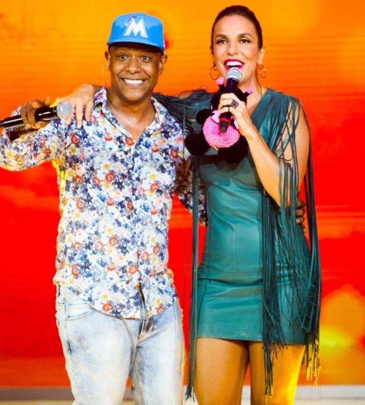 Márcio Victor e Ivete Sangalo   Foto: Reprodução