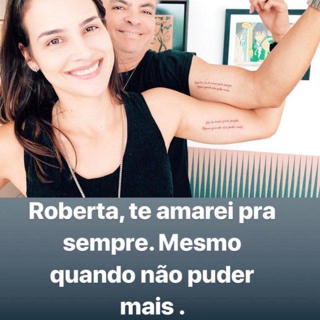 Olha que lindo o que Ronaldo Filho e Roberta Cunhahellip