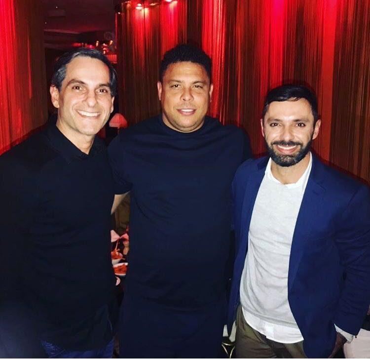 André Machado, Ronaldo e João Benjamim Delgado | Foto: Reprodução