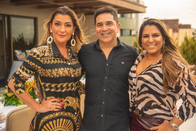 Taciana Ribeiro, Paulo Germano e Airan Teles | Fotos: Igor do Ó