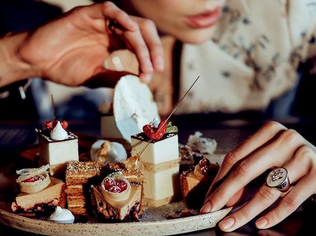 Sobremesas do restaurante Matryoshka | Foto: Reprodução