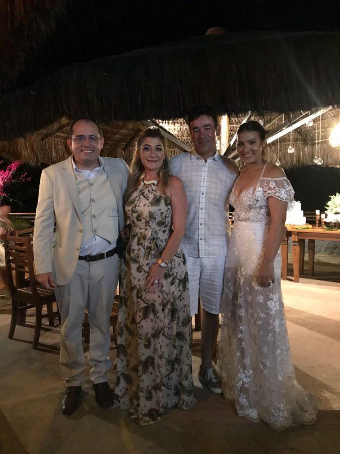 Reginaldo Duarte, Taciana Ribeiro, Helton Pessoa e Tais Targino | Fotos: Reprodução