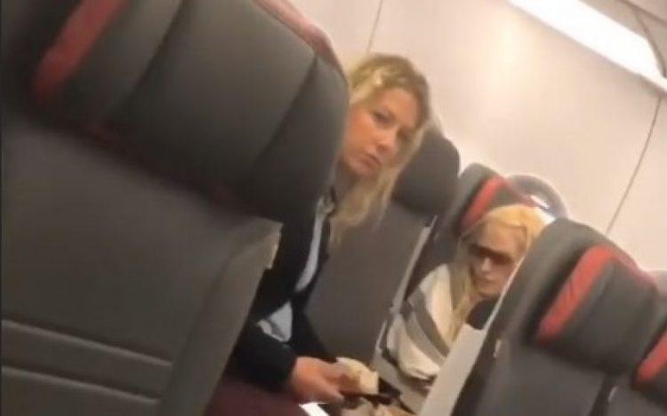 Madonna durante voo | Foto: Reprodução/Instagram