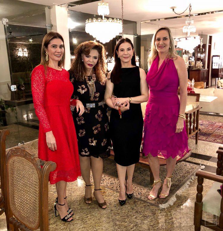 Alessandra Soares de Oliveira, Ana Lúcia Ribeiro Coutinho, Samara Hamad e Adriana Terceiro | Fotos: PG