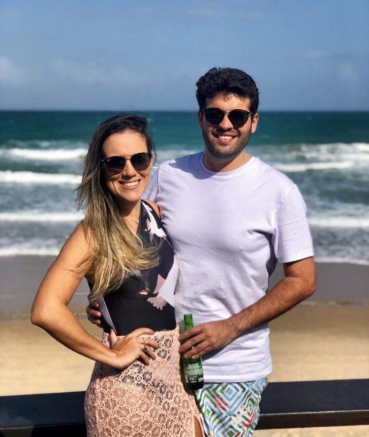 Camilla Jansen e Marcos Beltrão | Foto: Reprodução