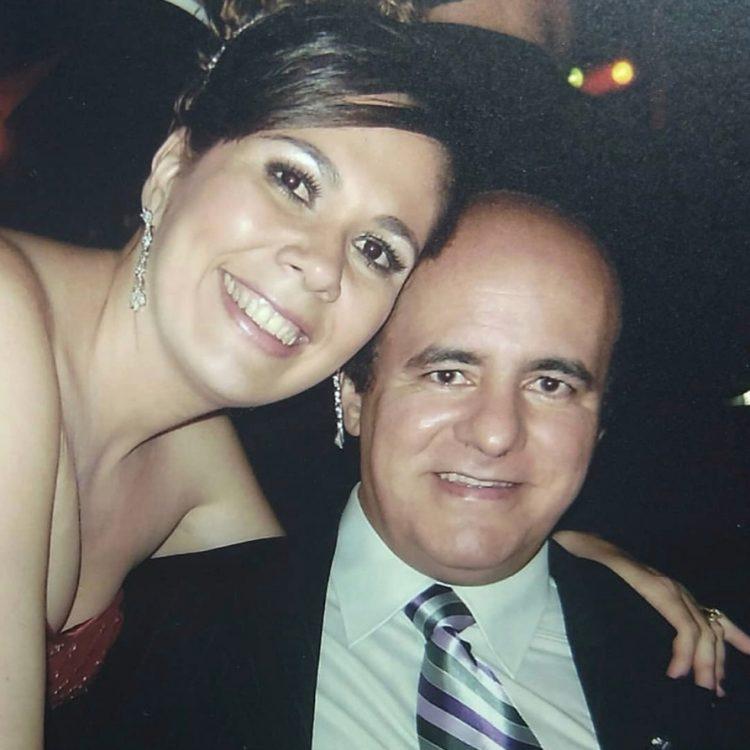 Adhailton Lacet e sua esposa, Cristiane Immisch | Foto: Reprodução